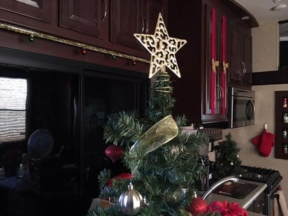Christmas Tree in RV