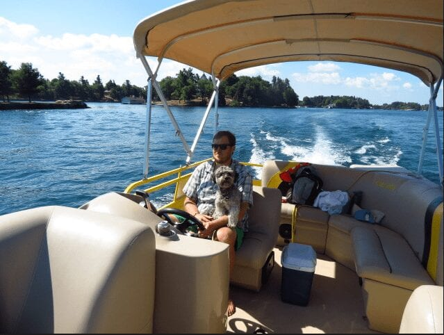 Boat Rental from Swan Bay Resort