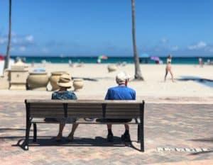 Couple on Florida BEach