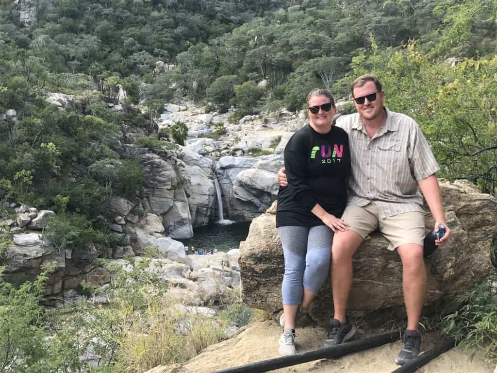 Maya Del Sol Waterfall in Mexico