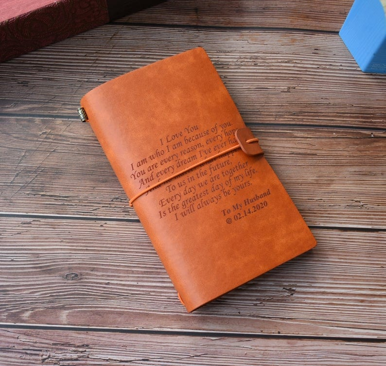 Personalized RV gift travel journal