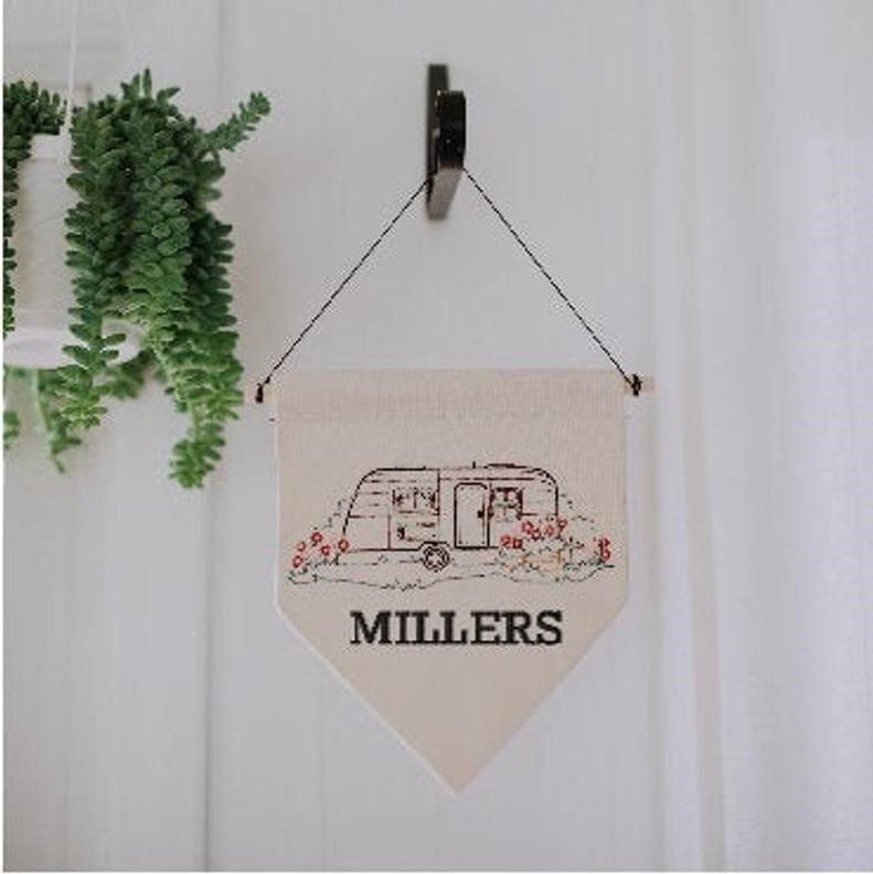 Personalized RV gifts wall decor