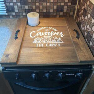 stove cover