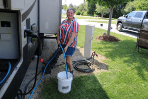 How to Sanitize an RV Fresh Water Tank