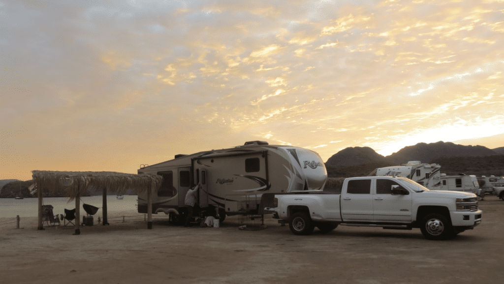 RV Campgrounds on the Beach Baja
