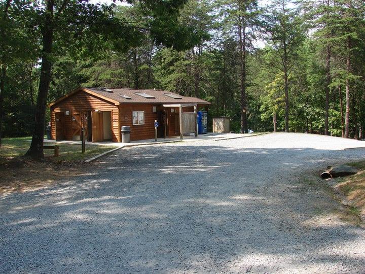 Campground bathhouse