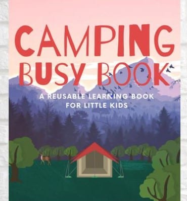 Camping Busy Book