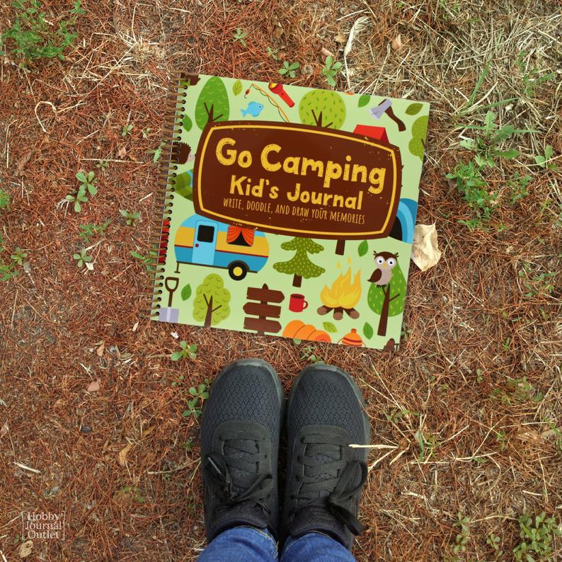Kids RV Camping Journal