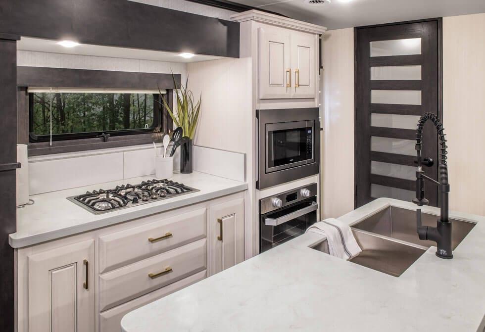 Front Kitchen RV