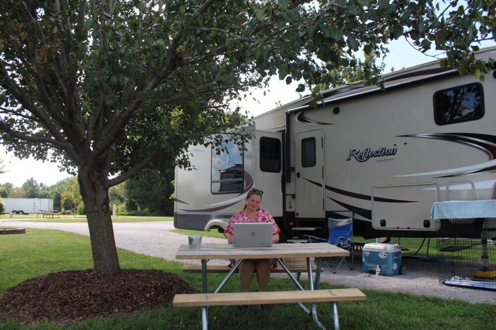 RV Campground near Mammoth Cave