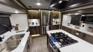 Front Kitchen Fifth Wheel RV