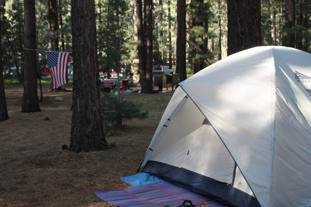 Tent Camping near Mammoth Cave
