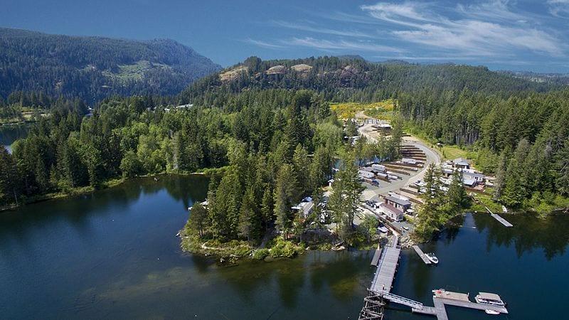 RV Park on a Lake