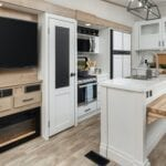 RVs with White Interior Décor (No Painting Required)