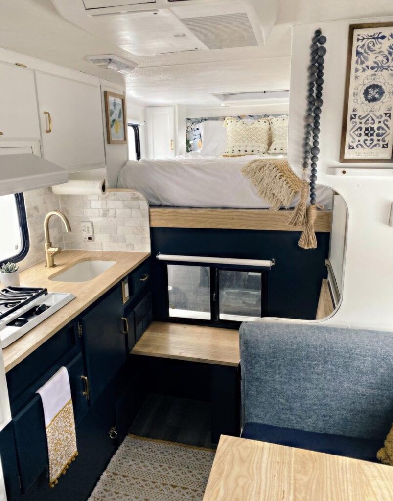 Renovated Truck Camper