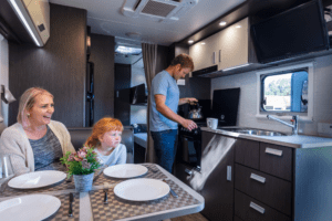Class C with bunk beds