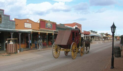 Tombstone Dog Friendly town