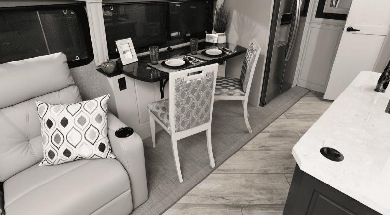 Multi-purpose RV office space