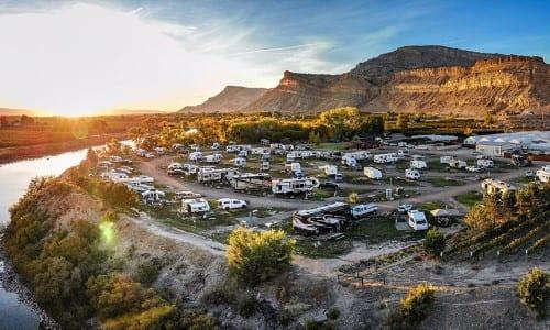 Best RV Park Views in Colorado