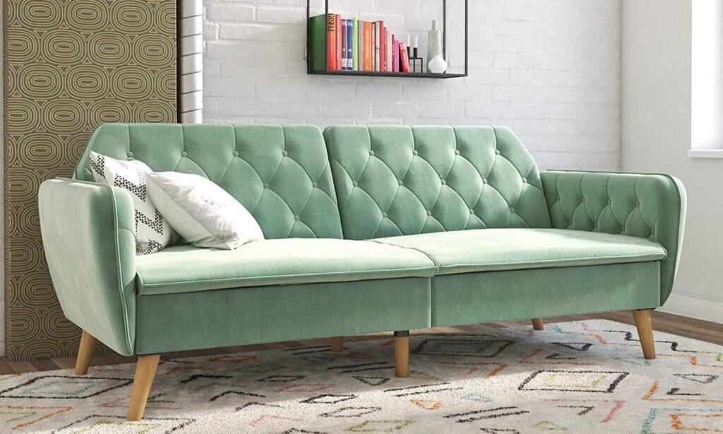 Velvet RV futon