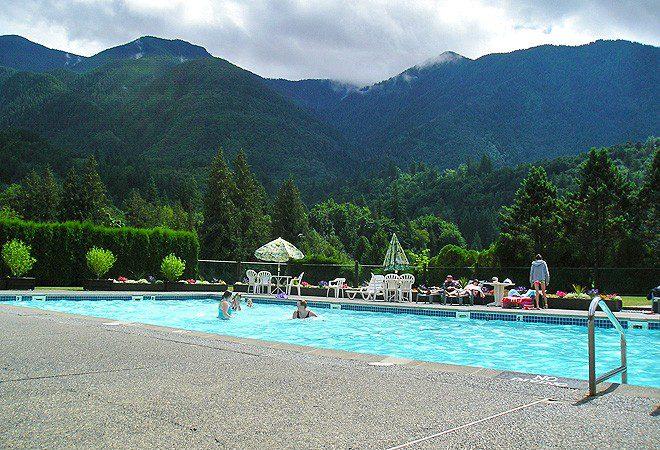 RV Park swimming pool