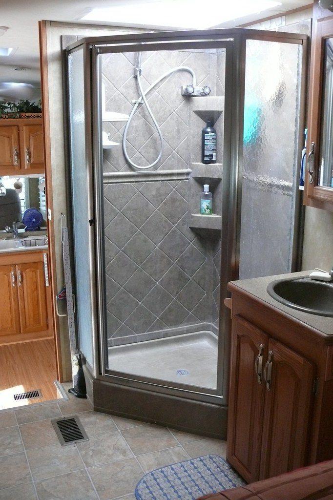 RV shower