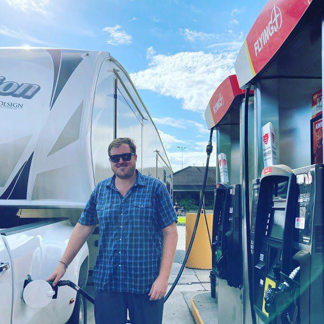 RV Fuel Lane