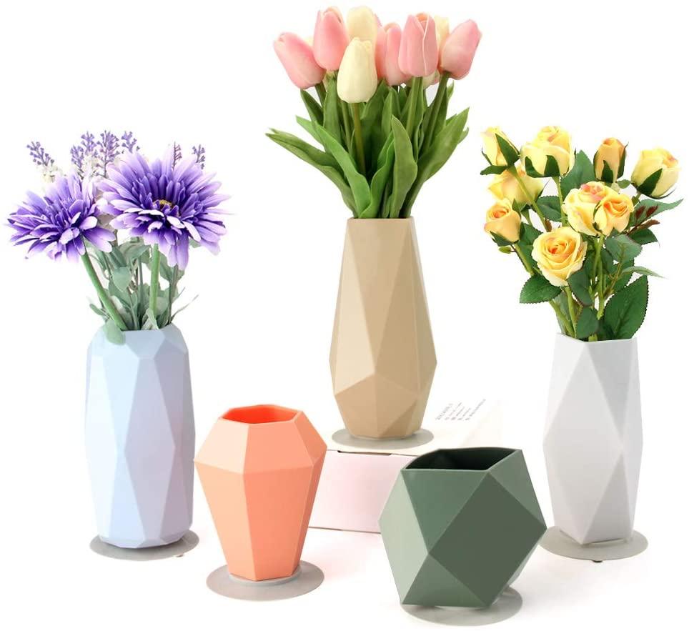 Silicone Flower Vases