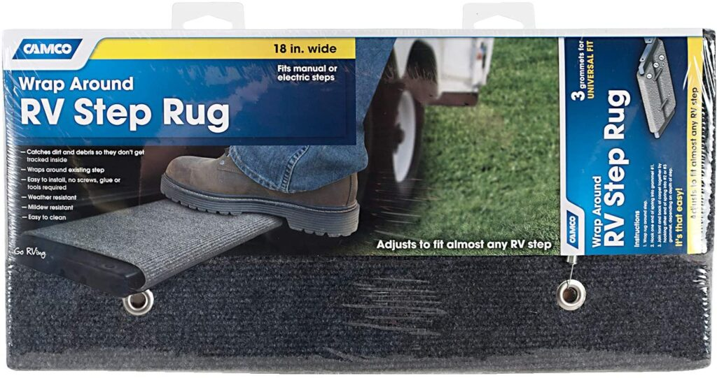 Teardrop Trailer Accessories - Step Rug