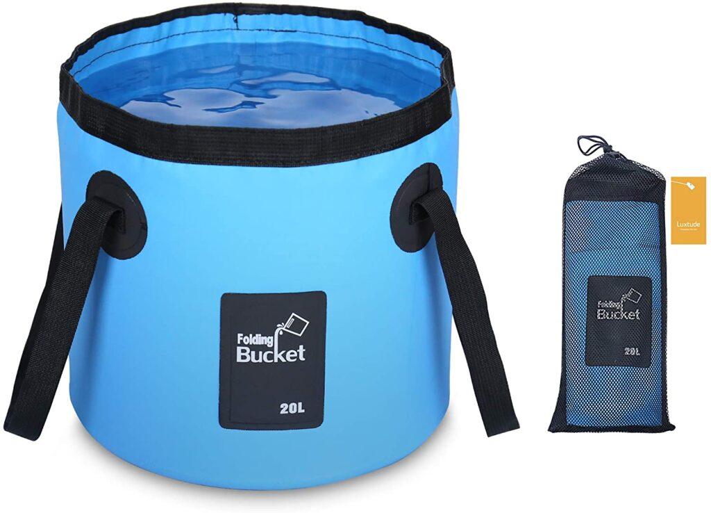 RV camping bucket