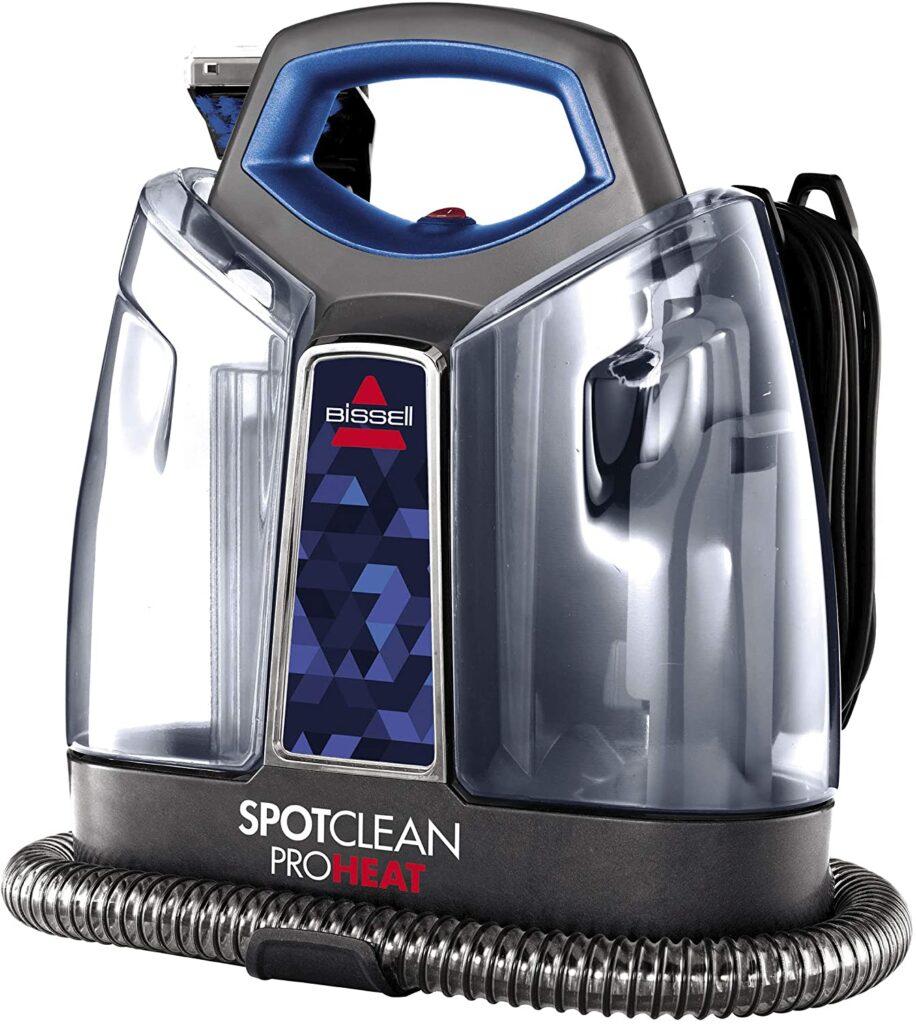 Portable steam vacuum