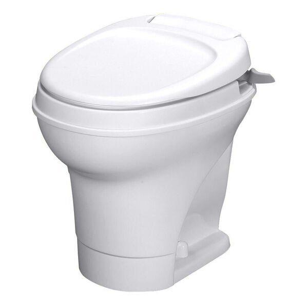 Hand Flush RV Toilet