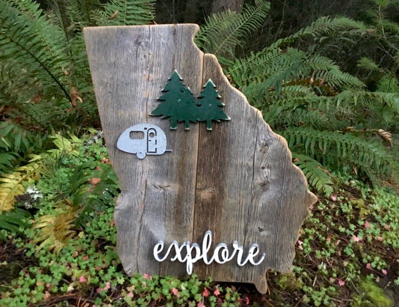 Custom wall art for RV campers