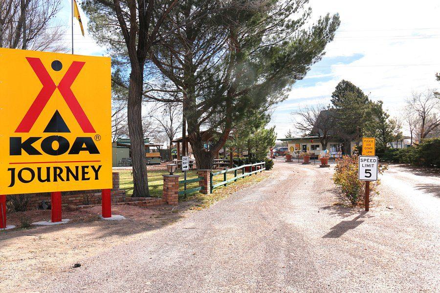 KOA Campground Entrance Sign