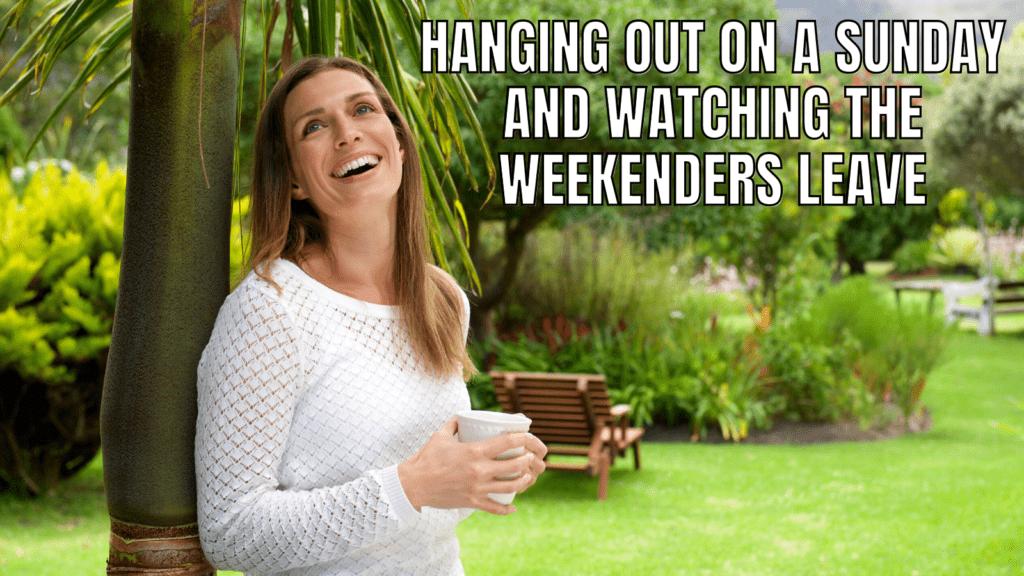 RV Life Meme: Bye Weekend Campers