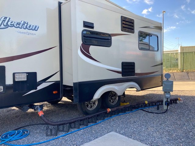 RV Camping Tips: Use Sewer Hose Supports