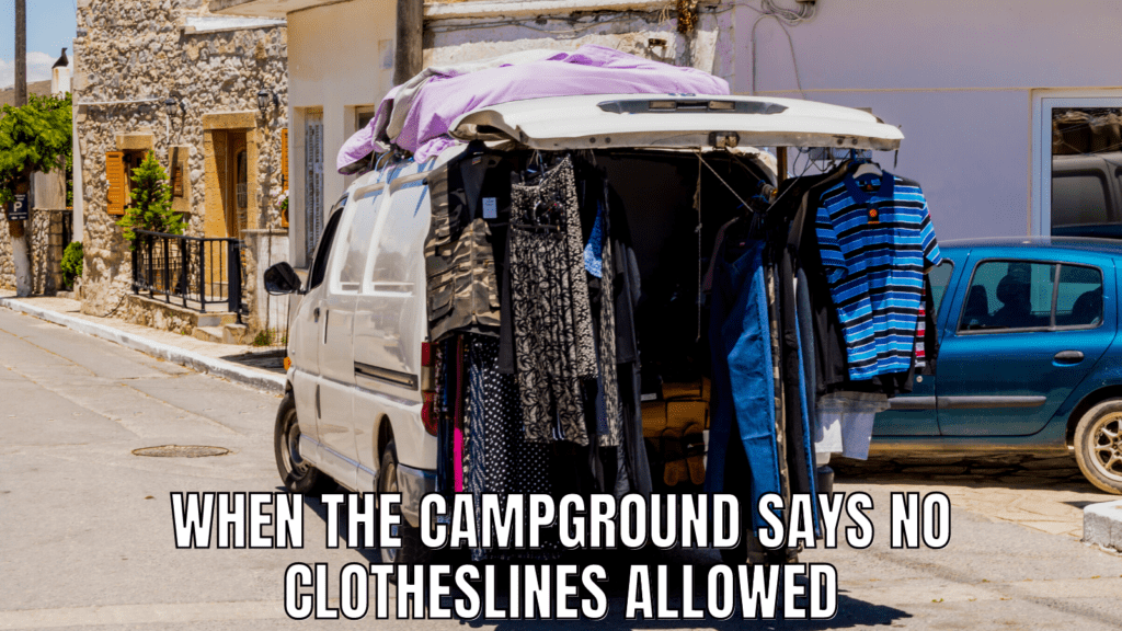 RV Life Meme: Laundry