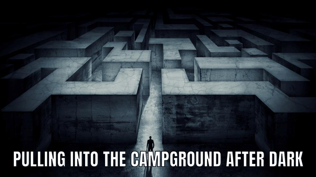Funny RV Camping Memes: Night Driving