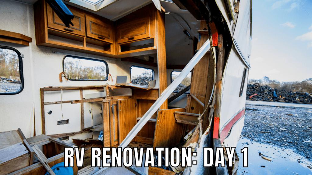 RV Renovation Meme
