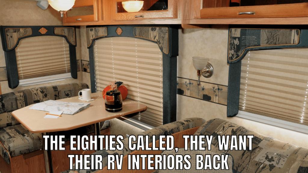 Funny RV Camping Memes: Interiors