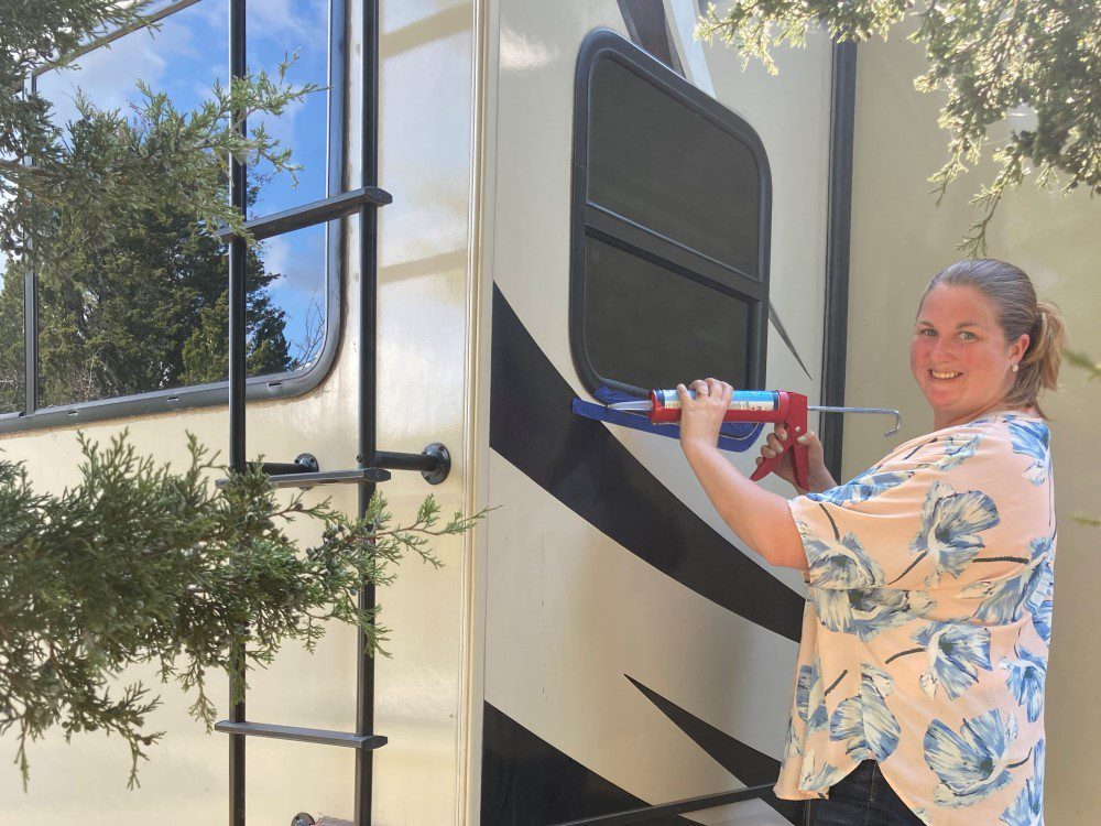 RV Camping Tips: How to Reseal Windows