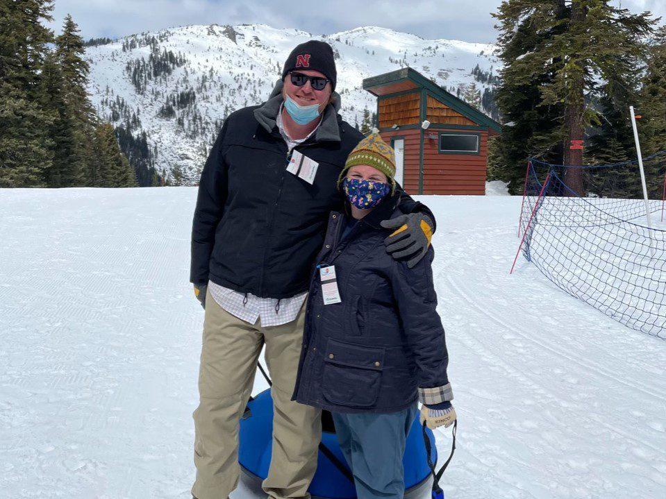 Tubing in Lake Tahoe