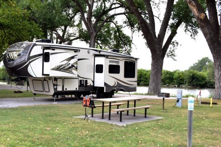 Ellis Lakeside Campground: One of the Best RV Parks in Kansas