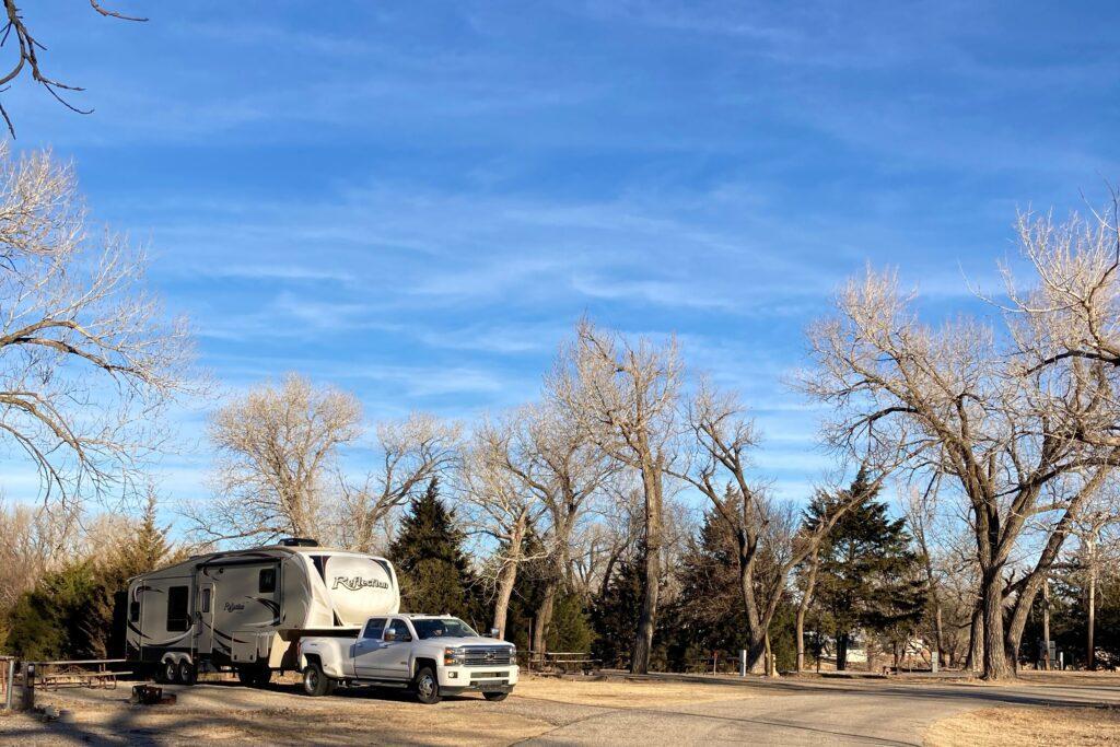 Best RV Parks in Kansas Kanopolis State Park