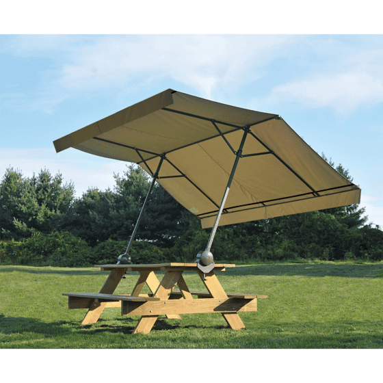 RV Awning Alternatives: Quick Clamp Canopy
