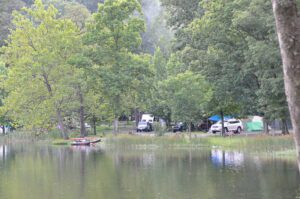 Lakeside Campground at Douthat State Park