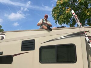 Cleaning RV Air Conditioners