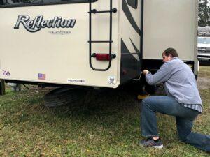 RV Maintenance Checklist: Inspect Spare Tire