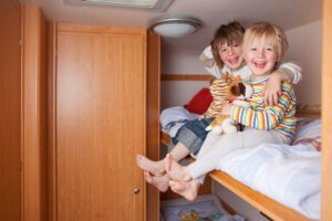 Best Small RV for a Family of 4: Class C Bunkhouse