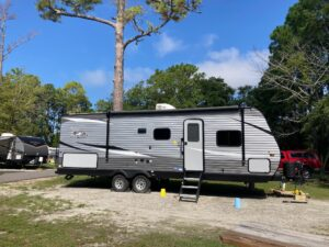 Best RV for a Family of 4 with Teenagers: Travel Trailer with 2 Beds